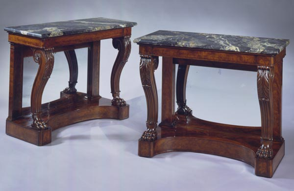Pair of Restauration Pier Tables