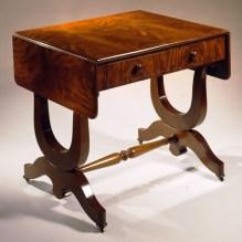 Plain-Style Sofa Table by Alexander Roux