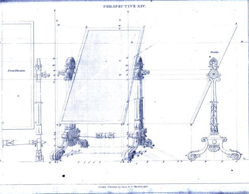 M-051051 George Smith's drawing 1827