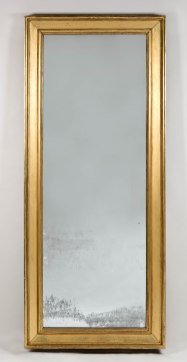 Gilt-Wood Pier Mirror by August F. Cammeyer