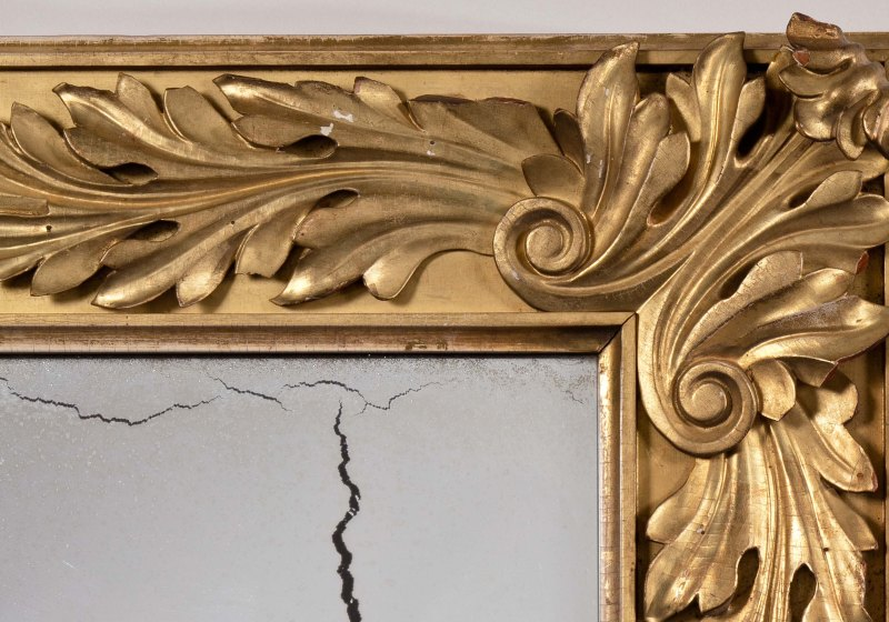 Carved Gilt-wood Pier Mirror