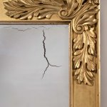 Classical Gilt-Wood Pier Mirror by Charles N. Robinson