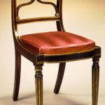 Carved and Painted Federal Chairs