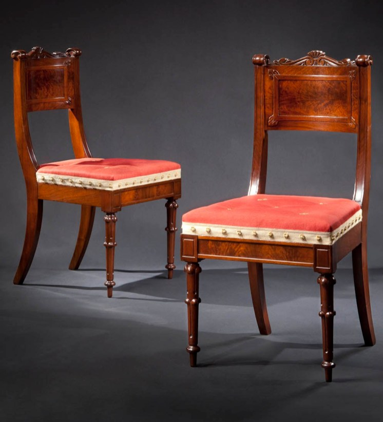 Pair of Side Chairs by Richard Parkin