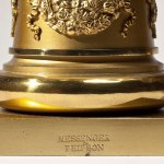 Brass Candelabra by Messenger & Phipson