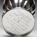 Silver Presentation Pitcher by Farnum & Ward