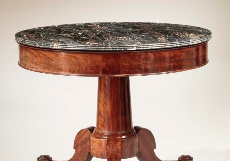 CLASSICAL CENTER TABLE by Duncan Phyfe
