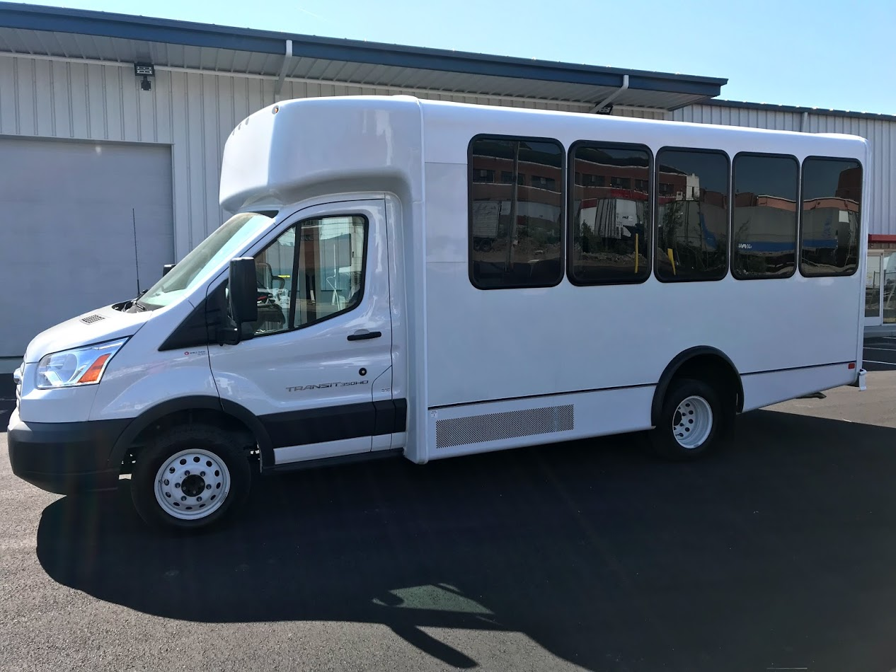 hight resolution of new 2018 world trans ford transit 14 passenger shuttle bus for sale
