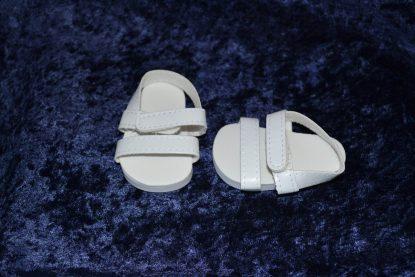 White Doll Sandals