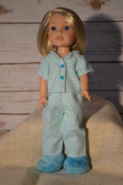 aqua-print-pajamas-wellie