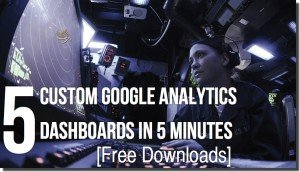 Google-Analytics-dashboard-custom courtesy of traffic generation cafe