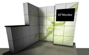 MultiQuad Trade Show Displays Kits MQkit1030HD