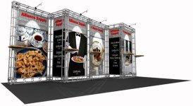 venus 10x20 orvital express truss display