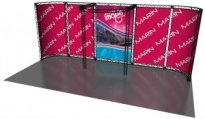 Crosswire 10x20 Composite Truss Display Kit C