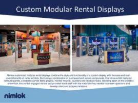 Nimlok Rental Trade Show Displays