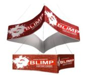 fabric hanging signs banners for trade show exhibits