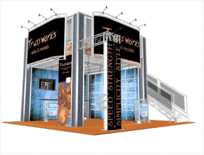 20-x-20-Trussworks truss double deck trade show display