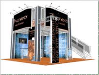 20-x-20-Trussworks truss double deck trade show display