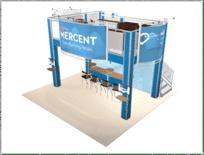 20x20-Mercent-view-2 double deck trade show truss display