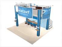 20x20-Mercent-view-2 double deck trade show truss display