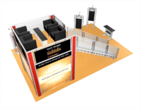 20x30-tech-tangle-view-3 double deck truss trade show display