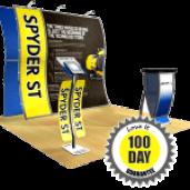 Perfect 10 tension fabric modular trade show display ideas