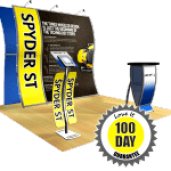 Perfect 10 tension fabric modular trade show display ideas