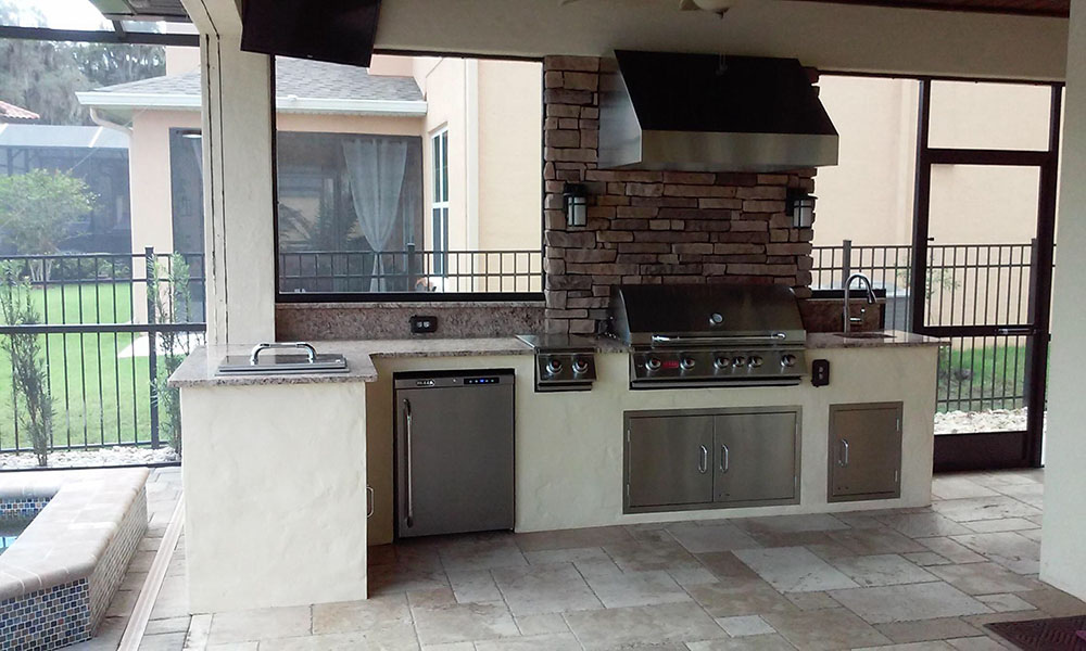 outdoor kitchens orlando mahogany kitchen island florida