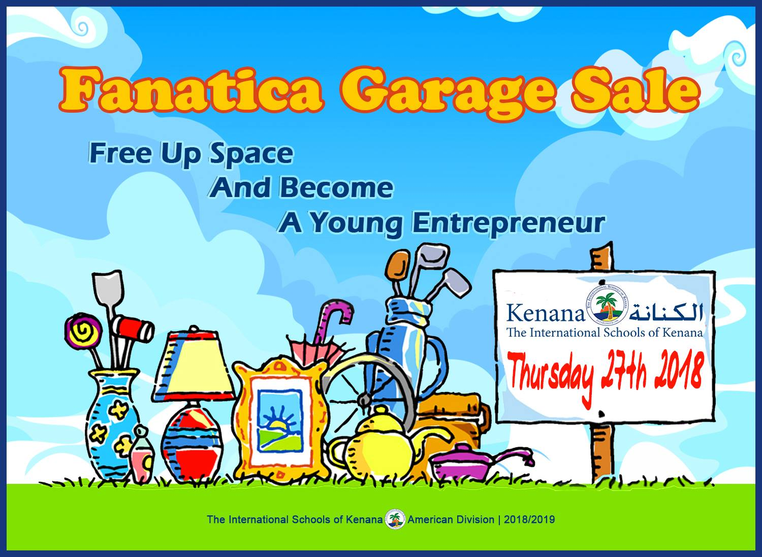 International Schools of Kenana | American Division - Fanatica Garage Sale