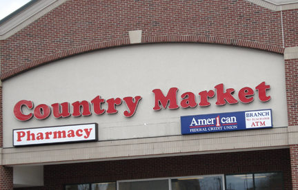 Our Chelsea Branch at Country Market.