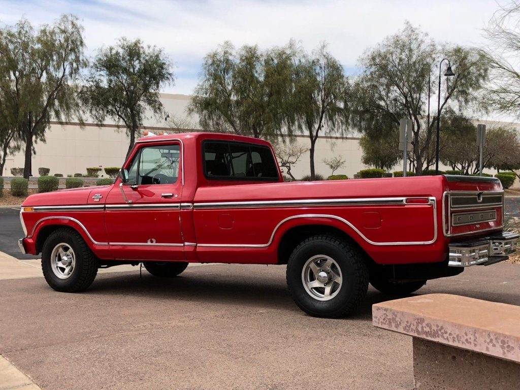 hight resolution of 1977 ford f 150 xlt ranger classic pickup truck