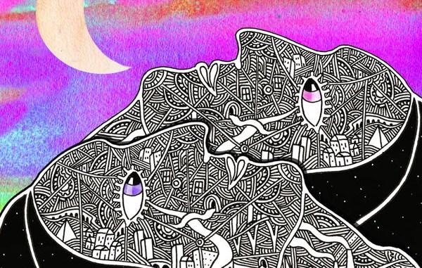 The Armadillo Paradox - debut album cover