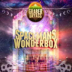 "Album art for Graber Gryass album ""Spaceman's Wonderbox"""