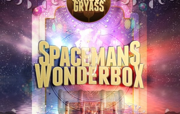 "Album art for Graber Gryass album ""Spaceman's Wonderbox"""