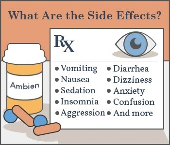 serious ambien side effects