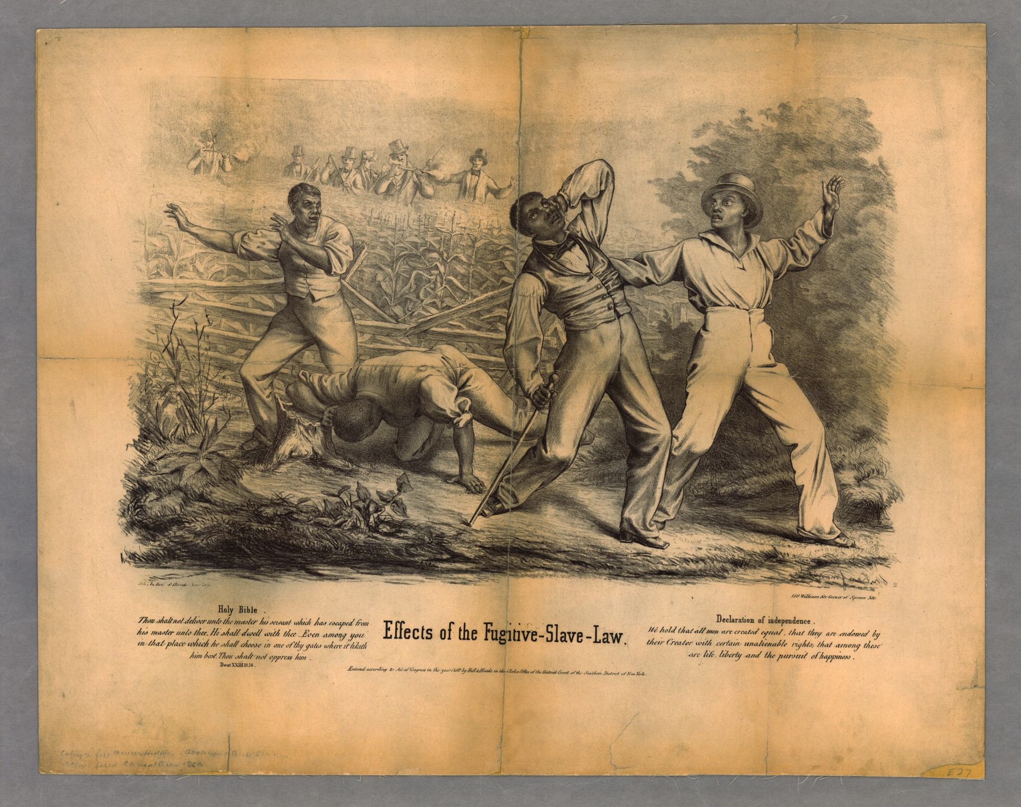 Effects Of The Fugitive Slave Law The News Media And The