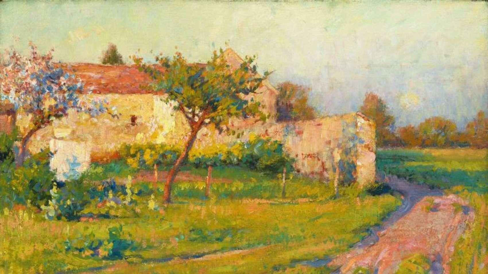 Painting Robert William Vonnoh