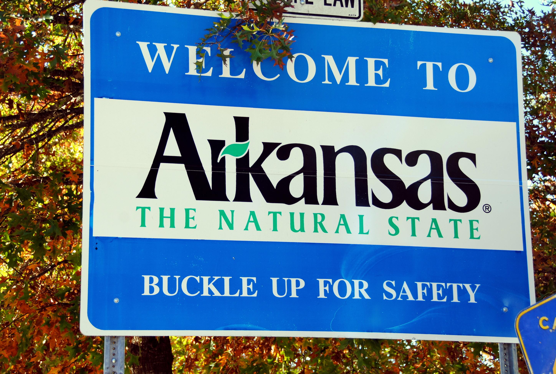 Arkansas The Natural State Americana the Beautiful