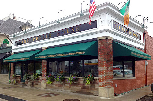 New Awnings at Public House, Cleveland