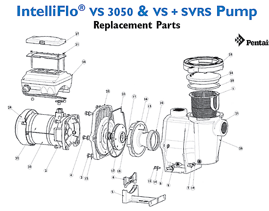 Pool parts : Pool Pump Motor Supp