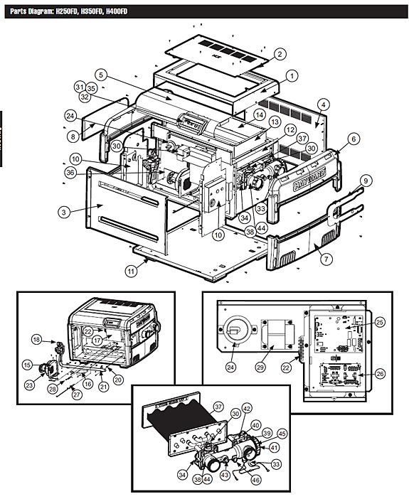 Hayward Universal H-Series Low NOx (FD Style)