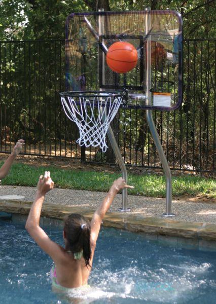 SR Smith Swim N Dunk Basketball Game  Stanless Steel DualPo