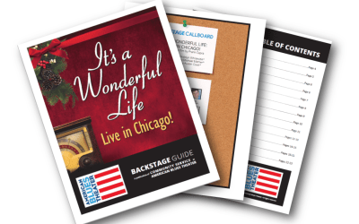 Backstage Guide for IT'S A WONDERFUL LIFE: LIVE IN CHICAGO!