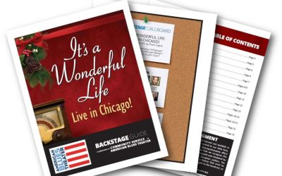 Backstage Guide for IT'S A WONDERFUL LIFE: LIVE IN CHICAGO! & Additional Resources