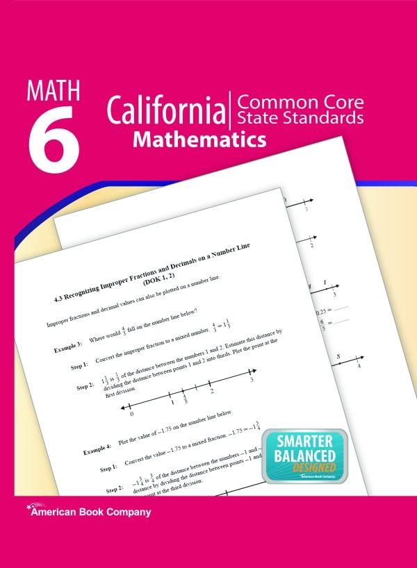 California Common Core State Standards In Grade 6 Math