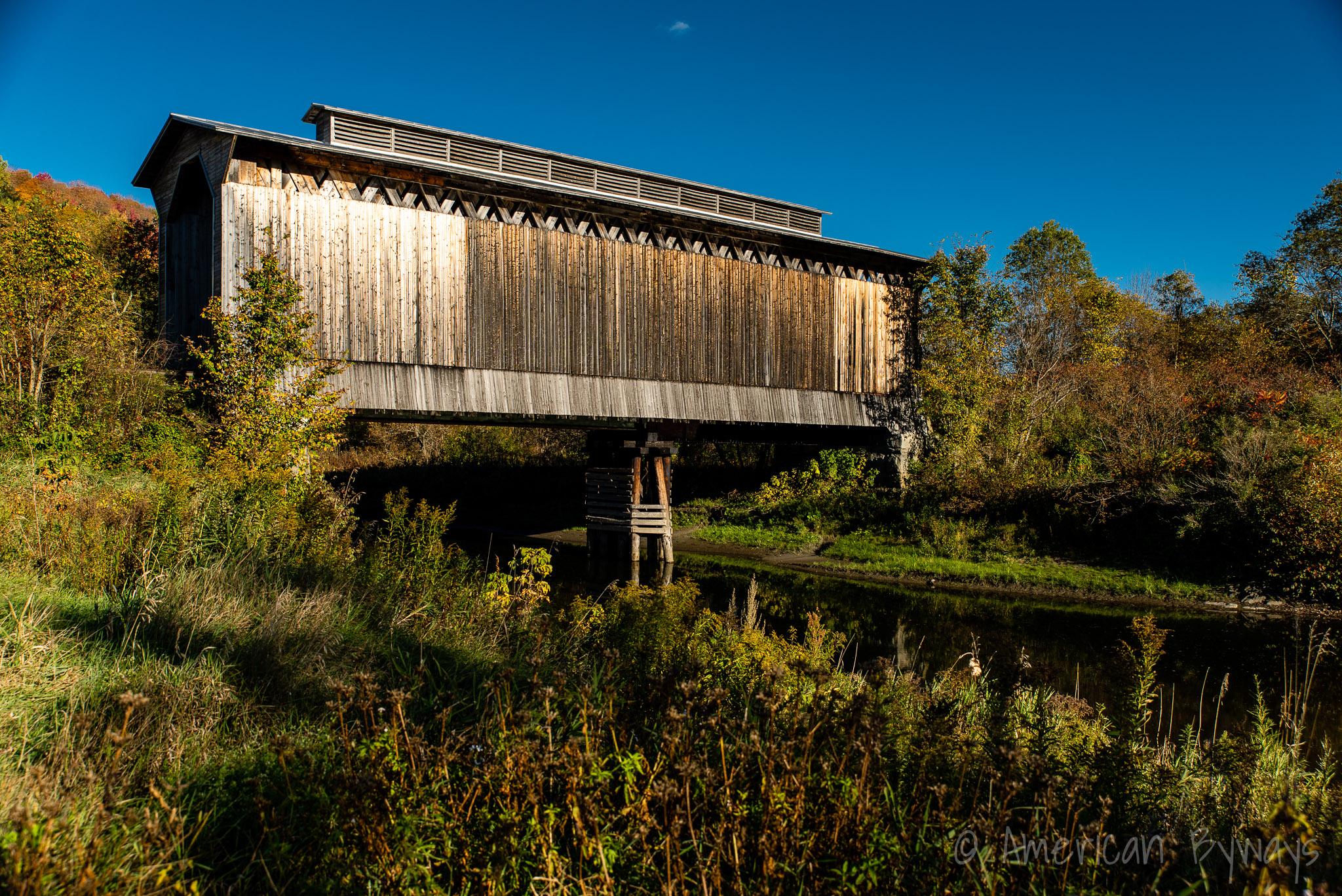Fisher Covered Railroad Bridge
