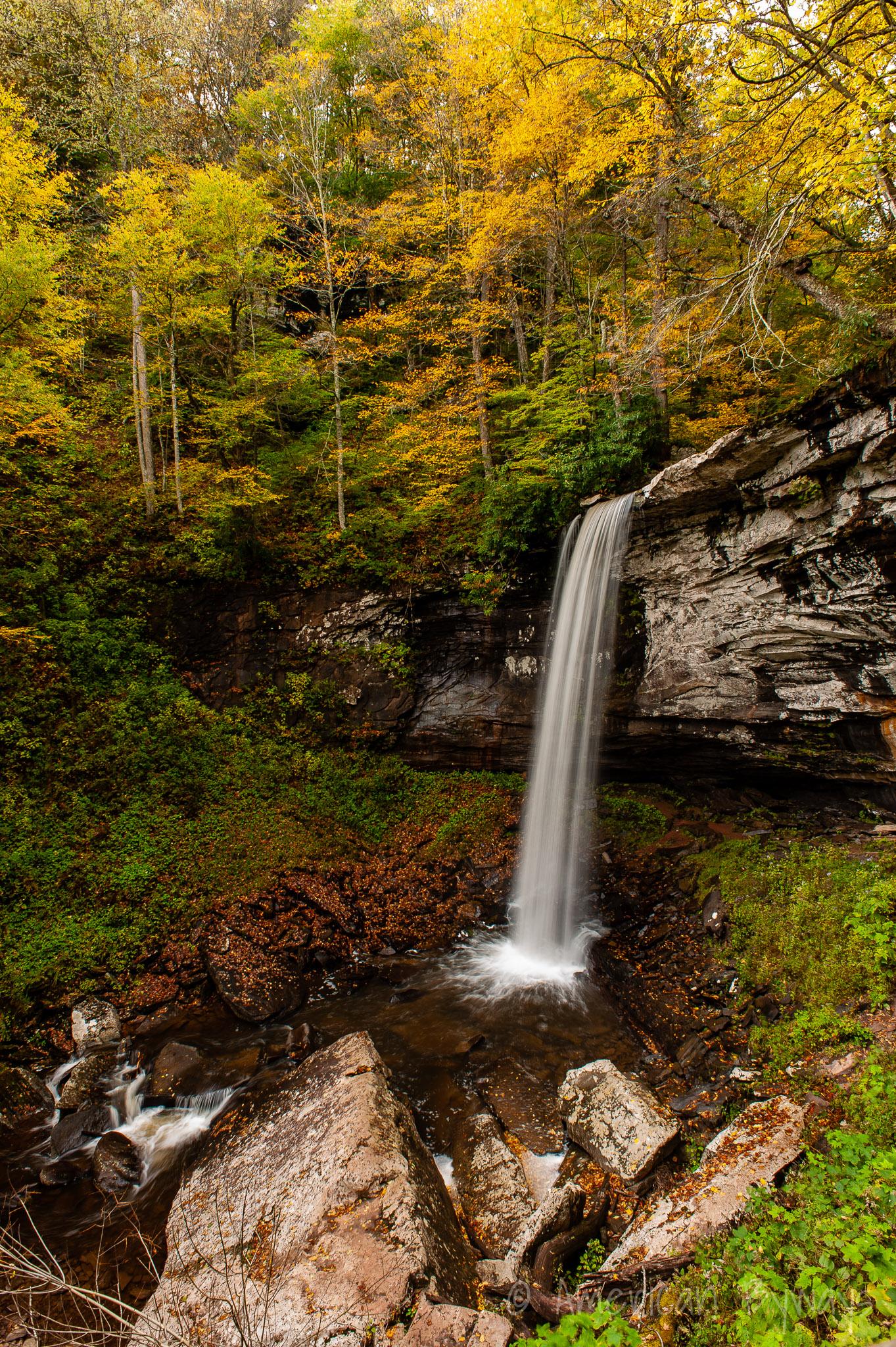 Lower Falls of Hill Creek