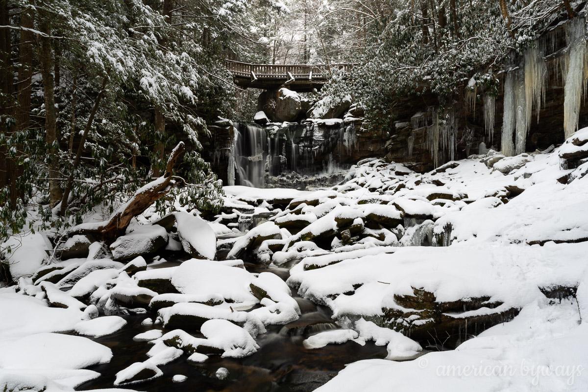 Falls of Elakala No. 1