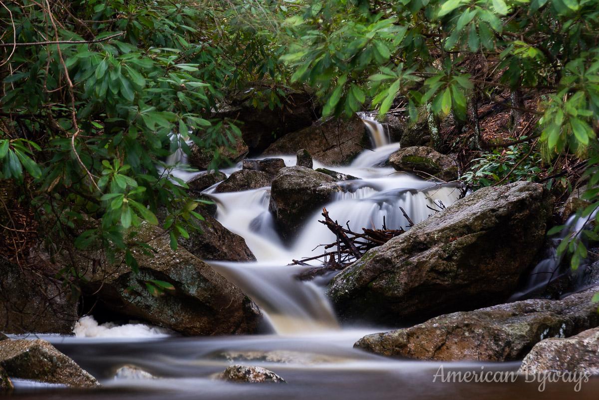 Cascades along Glen Onoko Run