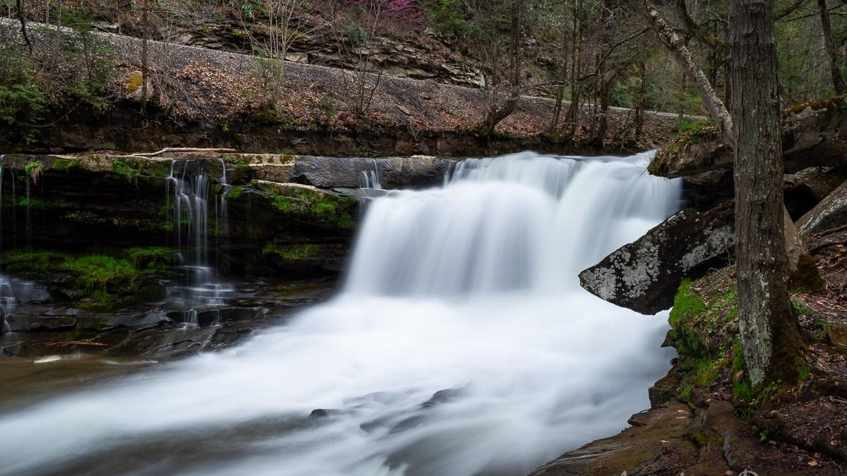 Dunloup Creek Falls